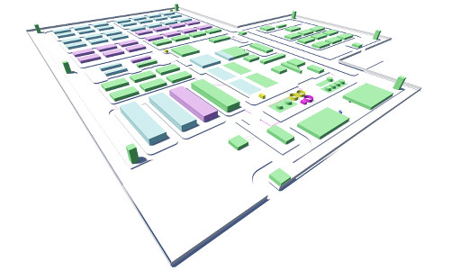 General 3D Layout